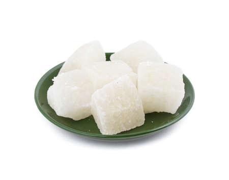 Indian Traditional sweet food Agara Peda Stock Photo