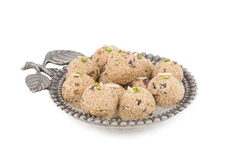 Indian Traditional Sweet food Til Laddu