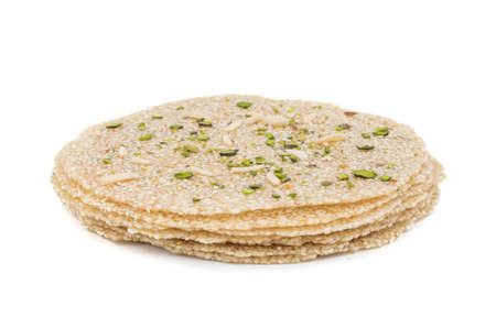 Indian Sweet Food tipp papri는 인도의 makar sankranti festival에서 인기있는 patty로 유명합니다.