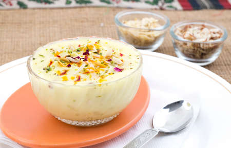 Indian Traditional Sweet Food Shrikhand