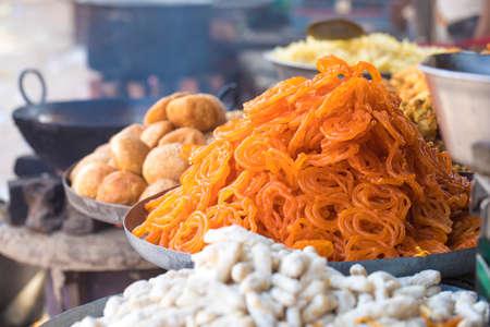 Indian Traditional Sweet food Jalebi