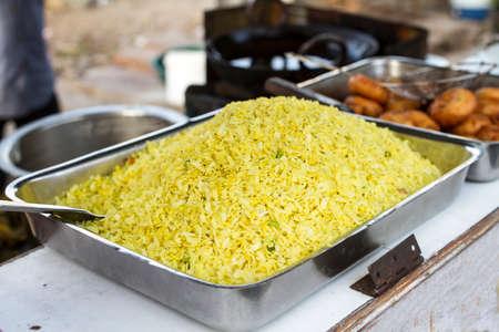 Indian Traditional Street Lite Food Poha