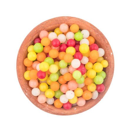 souf goli or fennel seed ball, indian traditional digestive food good to eat after lunch or dinner, also serve in festival of diwali, holi, and for guest