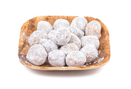 Ram Laddu, indian traditional digestive food good to eat after lunch or dinner, also serve in festival of diwali, holi, and for guest