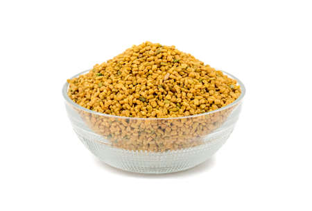 Fresh and healthy fenugreek seed or methi