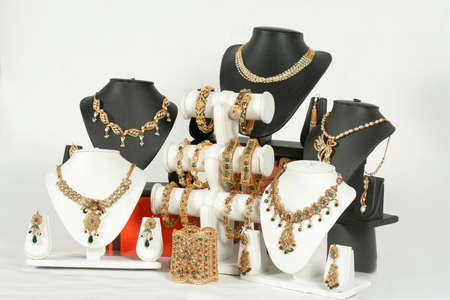 Indian traditonal jewelry necklace set