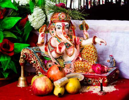 Hindu Goddess Ganesha Statue