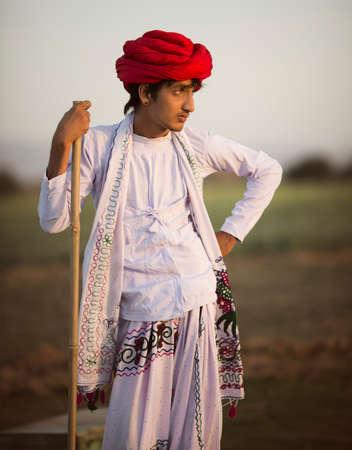 Indian Rural Boy