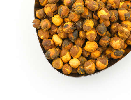 Group of spicy chana or gram isolated Stock Photo