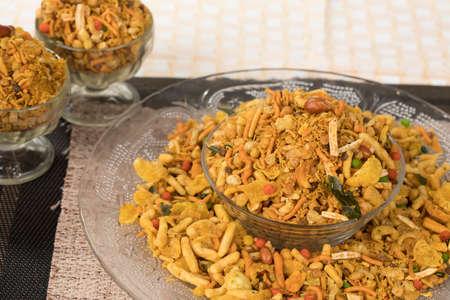 Indian Mix Namkeen Food