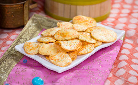 Fried and Salty Food Potato Chips
