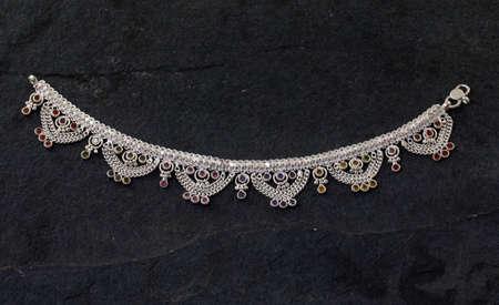 indian traditional leg wear jewelry Payal or kandora