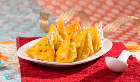Indian Sweet Food Sweet Samosa