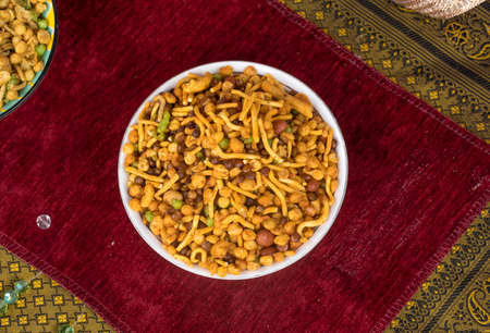 Indian Salty and spicy food Mix Namkeen