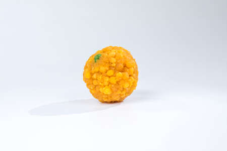 Indian Sweet Food Motichoor Laddu it is one of famouse sweet food of The Republic Day or Independent day