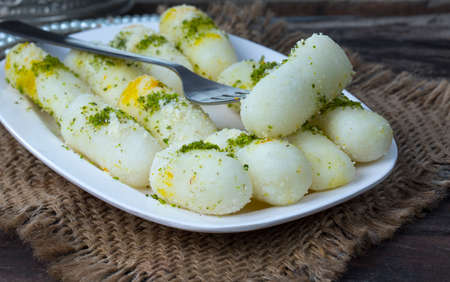indian sweet Rasgulla, Famous Bengali Sweet Stock Photo