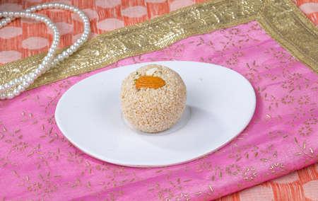 Indian Traditional Sweet food Til Laddu