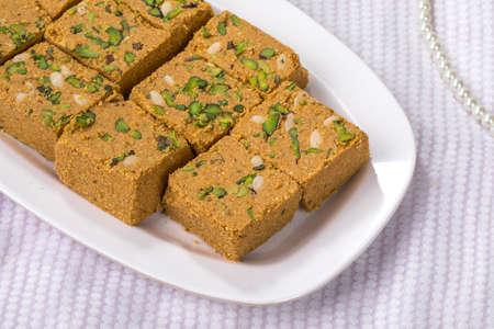 Indian Festival Sweet Food Gajak