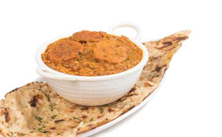 indian spicy curry Besan Gatta