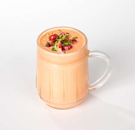 Indiaas beroemd drinkvoedsel Lassi Stockfoto
