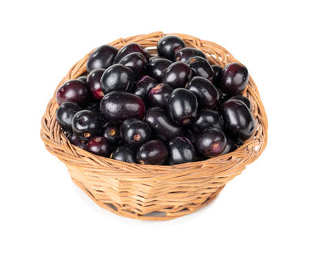 Indian blueberry or jamun fruits