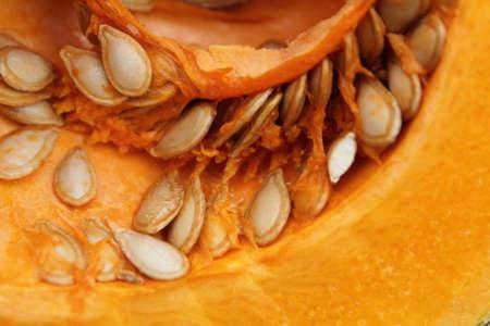 oiled: Pumpkin Stock Photo