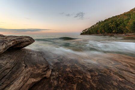 upper peninsula: Miners Beach in the Upper Peninsula of Michigan.