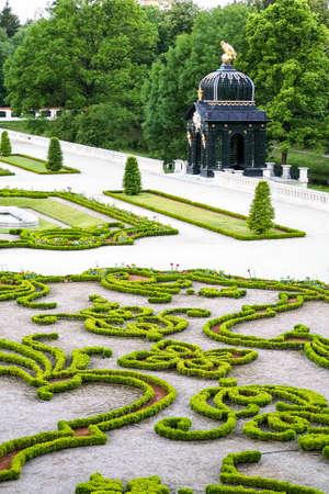 Branicki Palace park in Bialystok, Poland