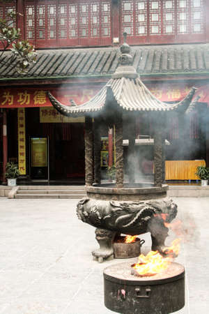 Chinese small temple
