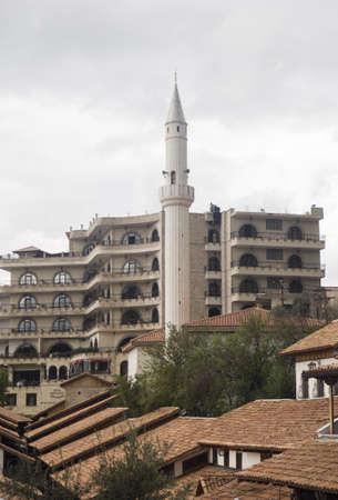 クルジェ - アルバニアの旧首都議事堂 写真素材 - 92050640