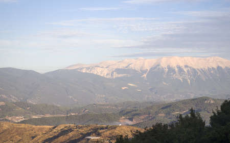 View on high Taurus mountains in Turkey