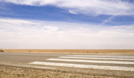 Chott el jerid, Tunisia, desert
