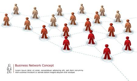 global networking: equipo de negocios de conexi�n concepto