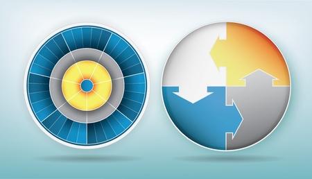 continuity: spherical presentation elements Illustration