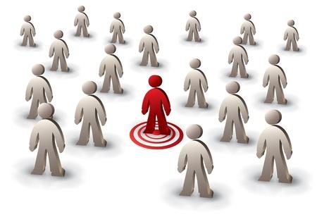 individualit�: persona bersaglio tra gli altri