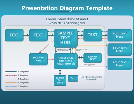 abstract presentation diagram