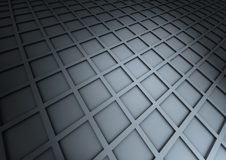 abstract cubic shapes in 3d Stock Photo - 11585367