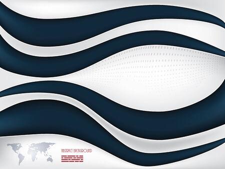 curvy: modern curvy design Illustration