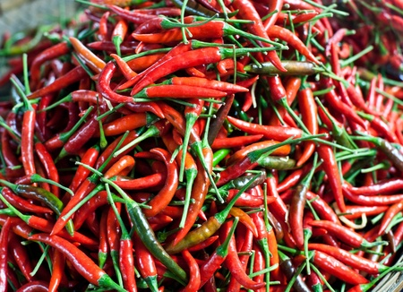 intense flavor: red chilli
