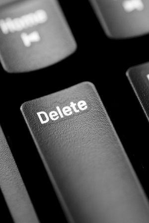 delete key type photo