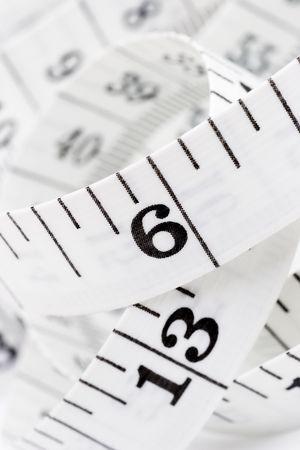 centimeter Standard-Bild