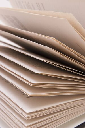 book pages abstract (open book)