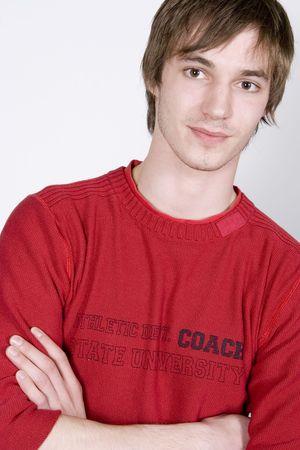confident young man portrait Stock Photo - 904458