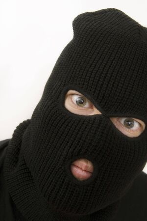 evil criminal wearing military mask Stock Photo - 1005915