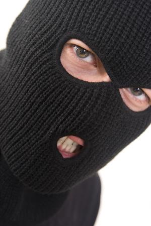 hijacker: mal penal militar llevaba m�scara  Foto de archivo
