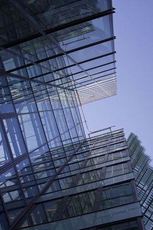 Modern office building (Kista science tower)