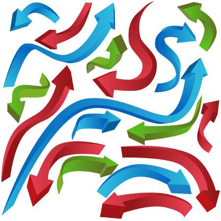 Wavy Arrows