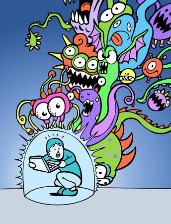 virus: Virus Attack