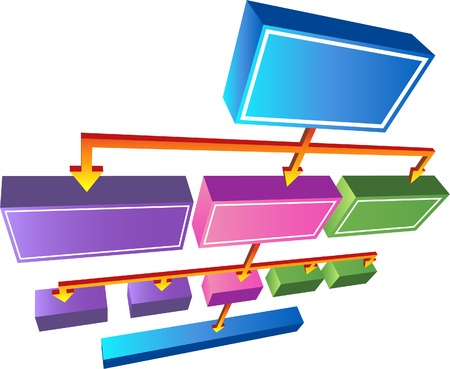 arrow icon: 3D Org Chart
