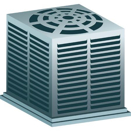aire acondicionado: Aire acondicionado  Vectores